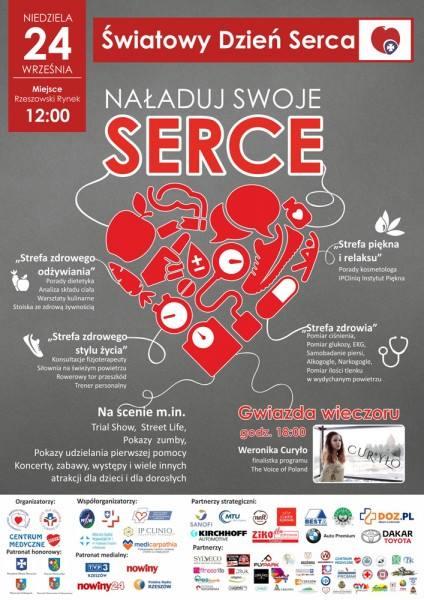 UWAGA! Medicarpathia na Światowym Dniu Serca w Rzeszowie