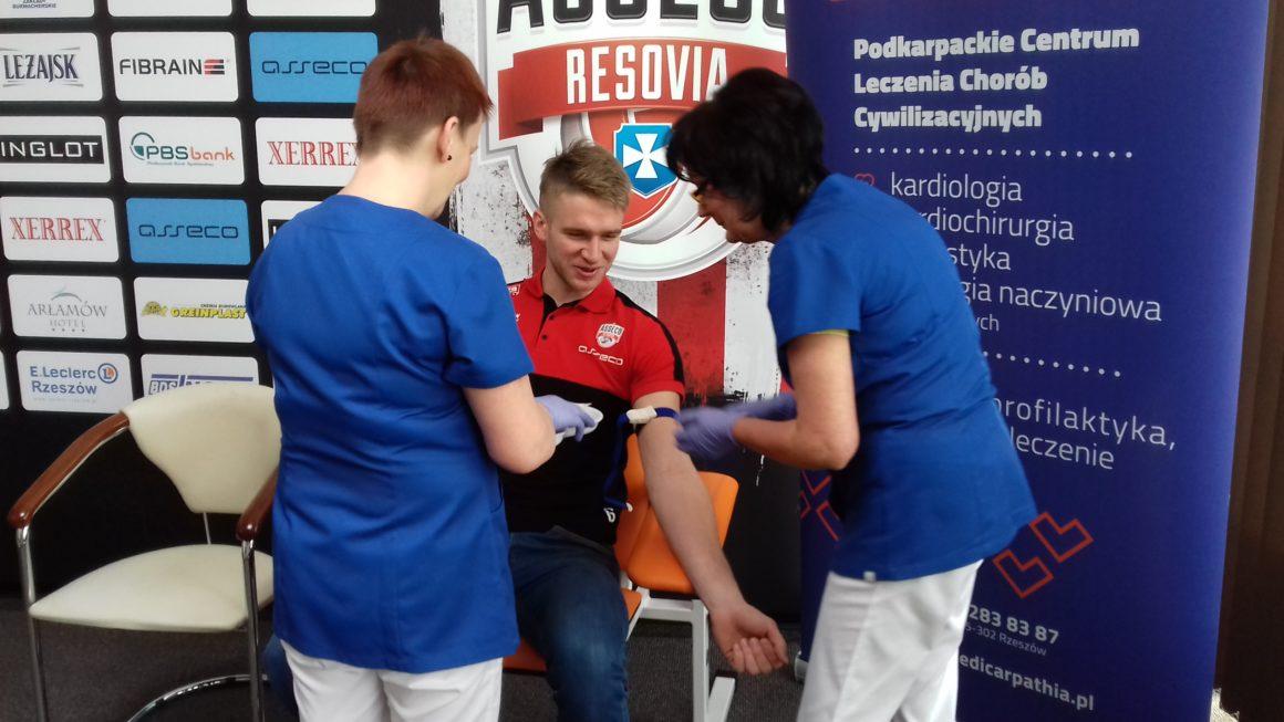 Zawodnicy Asseco Resovii Rzeszów nie marnują czasu!