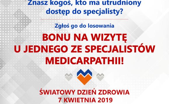 ŚWIATOWY DZIEŃ ZDROWIA W MEDICARPATHII!