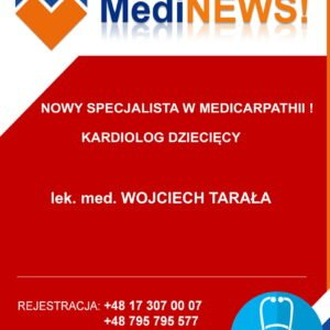 NOWY SPECJALISTA W MEDICARPARTHII!