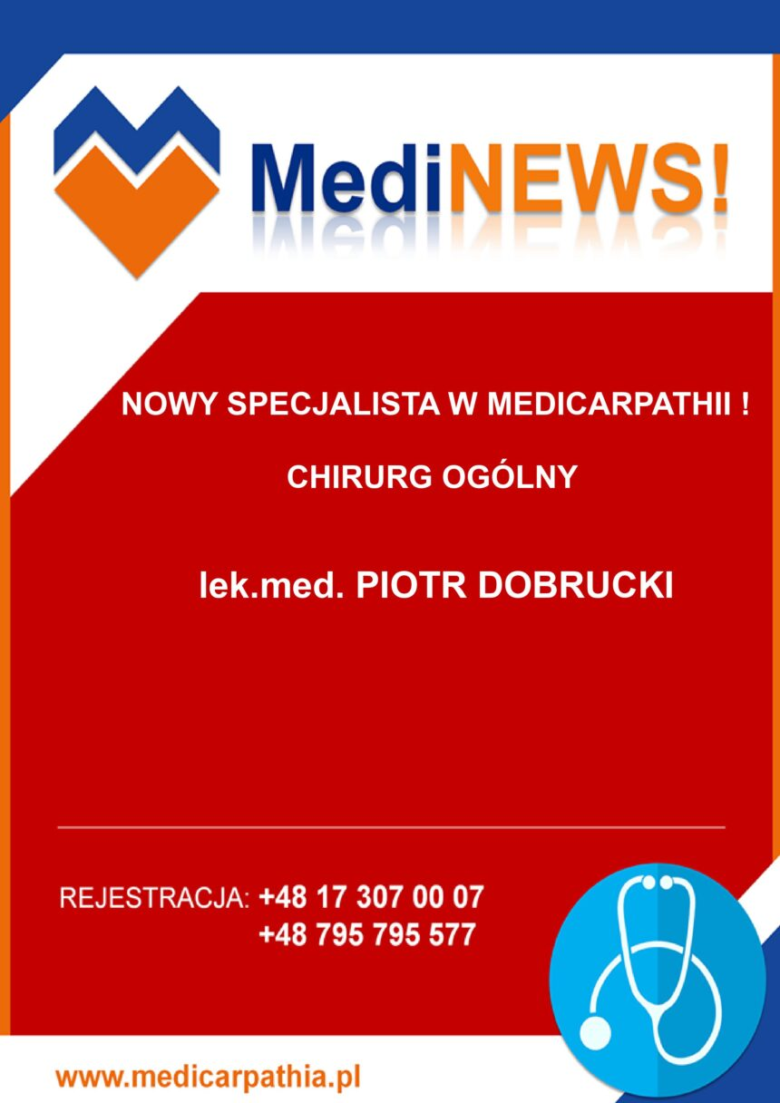 CHIRURG OGÓLNY W MEDICARPATHII!