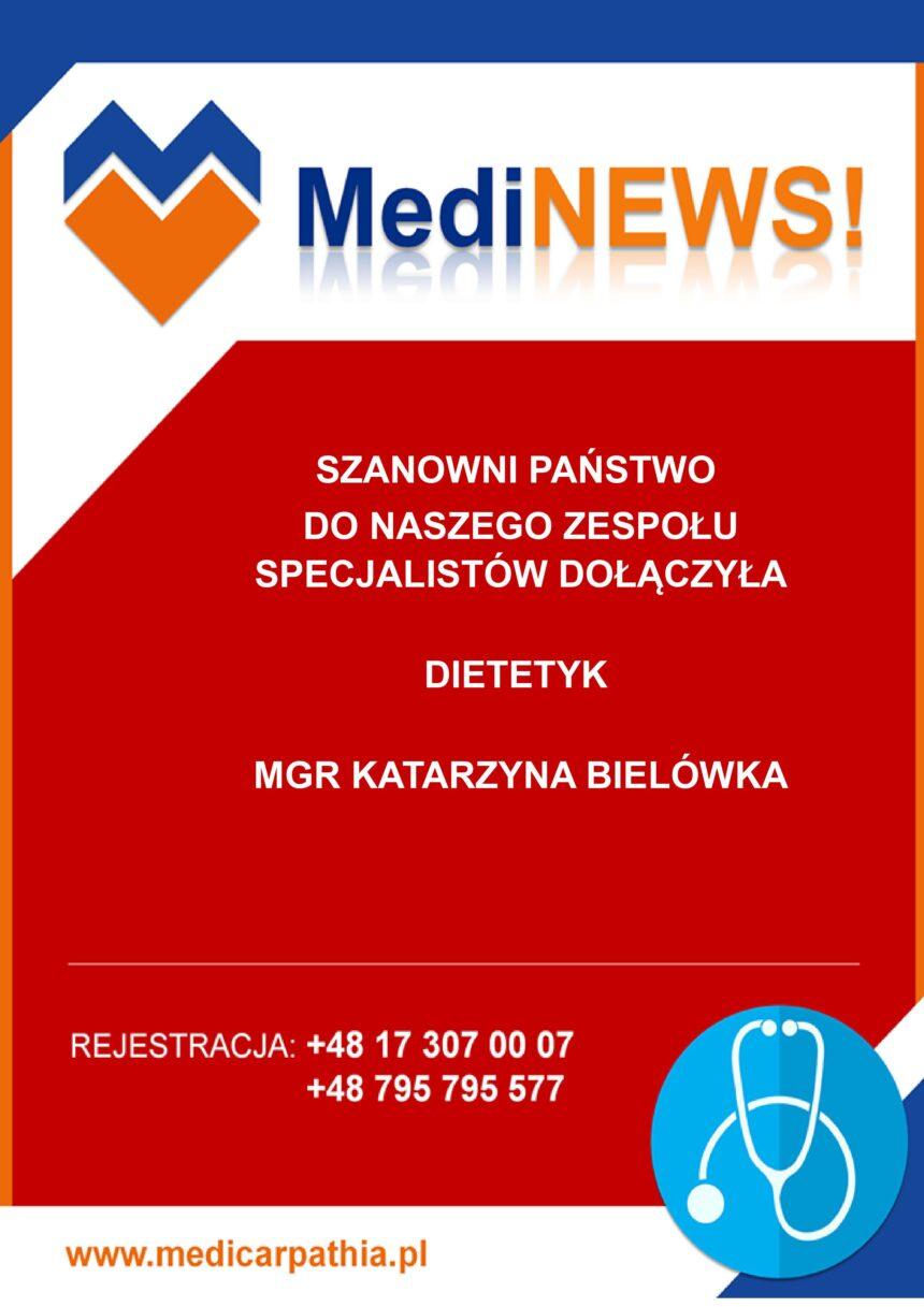DIETETYK W MEDICARPATHII!